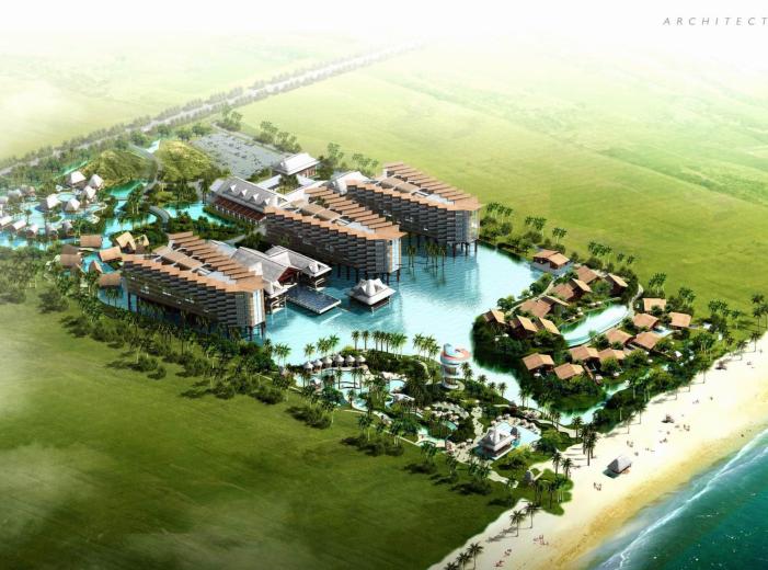 [海南]三亚海棠湾洲际度假酒店方案设计文本(PDF+69页)