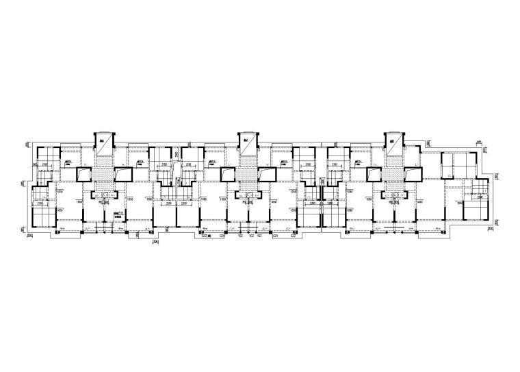 16层剪力墙结构住宅楼全套施工图(CAD/PDF,2015)