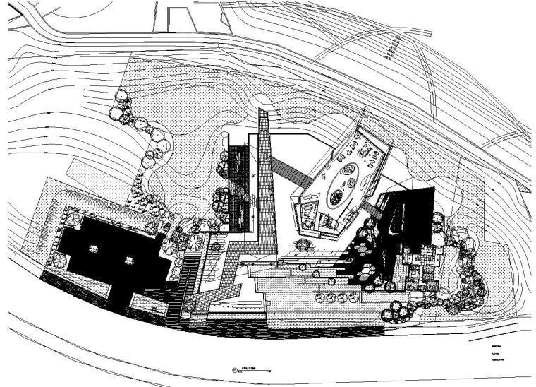 [重庆]龙湖昱湖壹号居住区景观施工图设计(绿化|CAD)