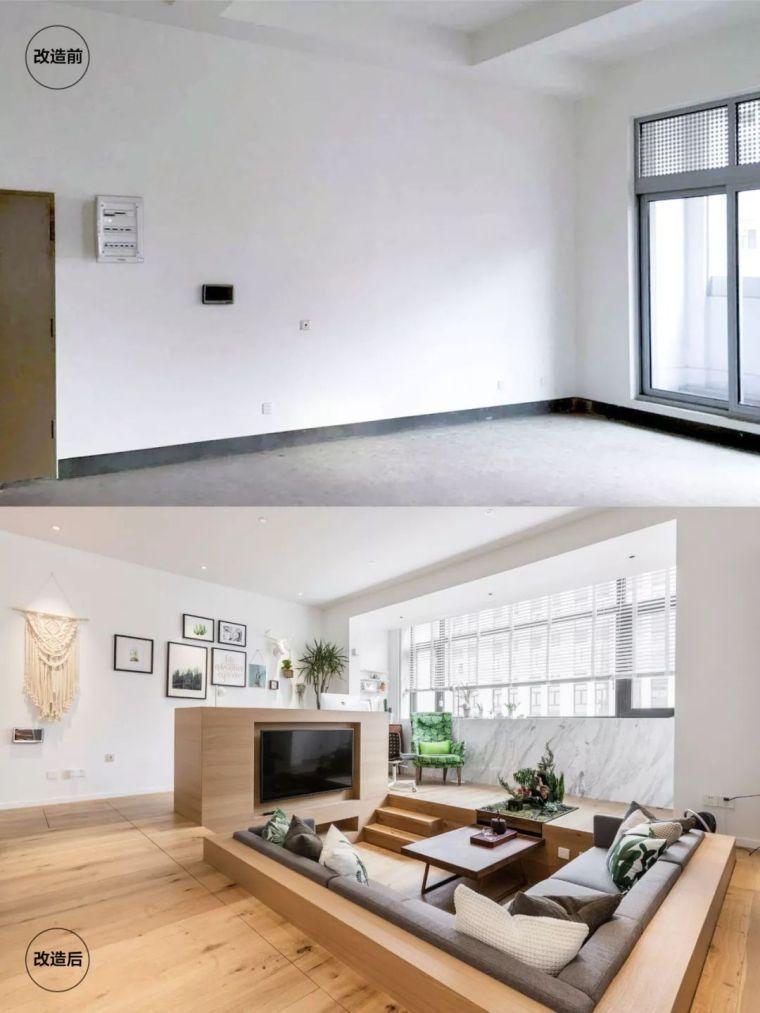 上海夫妇撬开地板、把卧室悬空,60㎡小家变豪宅!_7