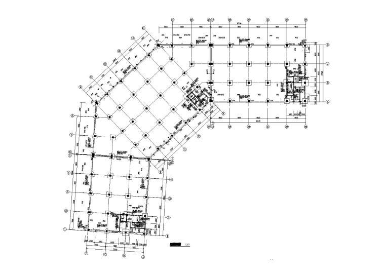 [广东]6层钢混框架结构工业厂房结构施工图
