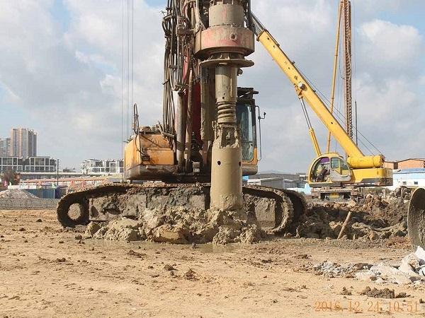 干挖法旋挖桩施工方案
