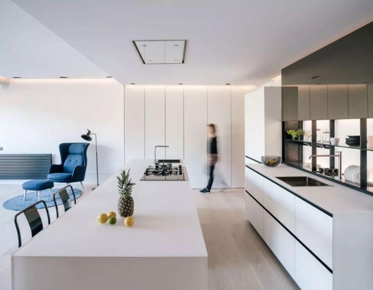130㎡旧房改造,客厅、厨房、卧室设计的都很赞!