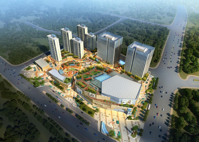 [山东]青岛和达中心城 建筑模型设计(2018年)