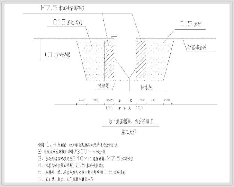 高层带地下室施工组织设计附图