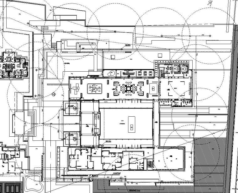 [上海]青浦徐泾万科天空之城居住区红线内景观施工图设计(给排水|CAD)