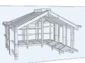 [烟台]学校体育馆斜屋面高支模专项施工方案(含计算书)