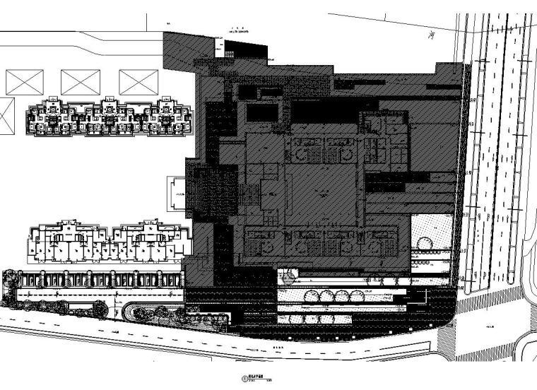 [上海]青浦徐泾万科天空之城居住区红线外景观施工图设计(植物|CAD)