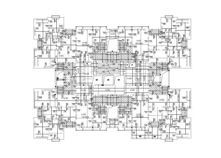 [重庆]26层剪力墙结构住宅楼结构施工图