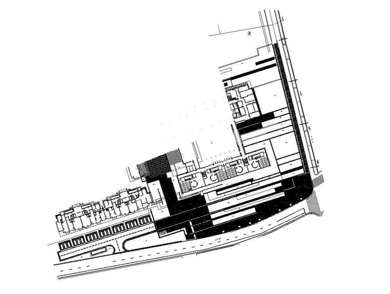 [上海]青浦徐泾万科天空之城居住区红线外景观施工图设计(园林建筑|CAD)