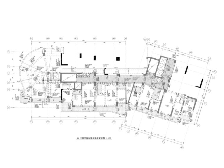 [上海]23层框架-剪力墙结构公寓式办公楼结构施工图(2016)