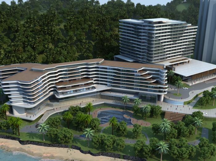 [海南]三亚鲁能万豪酒店项目概念设计方案文本
