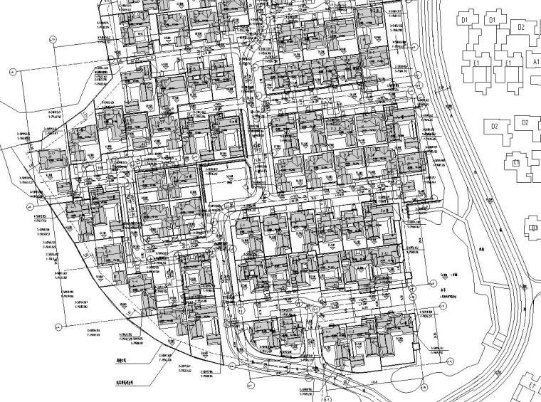 [重庆]绿城金基桃李春风景观施工图设计
