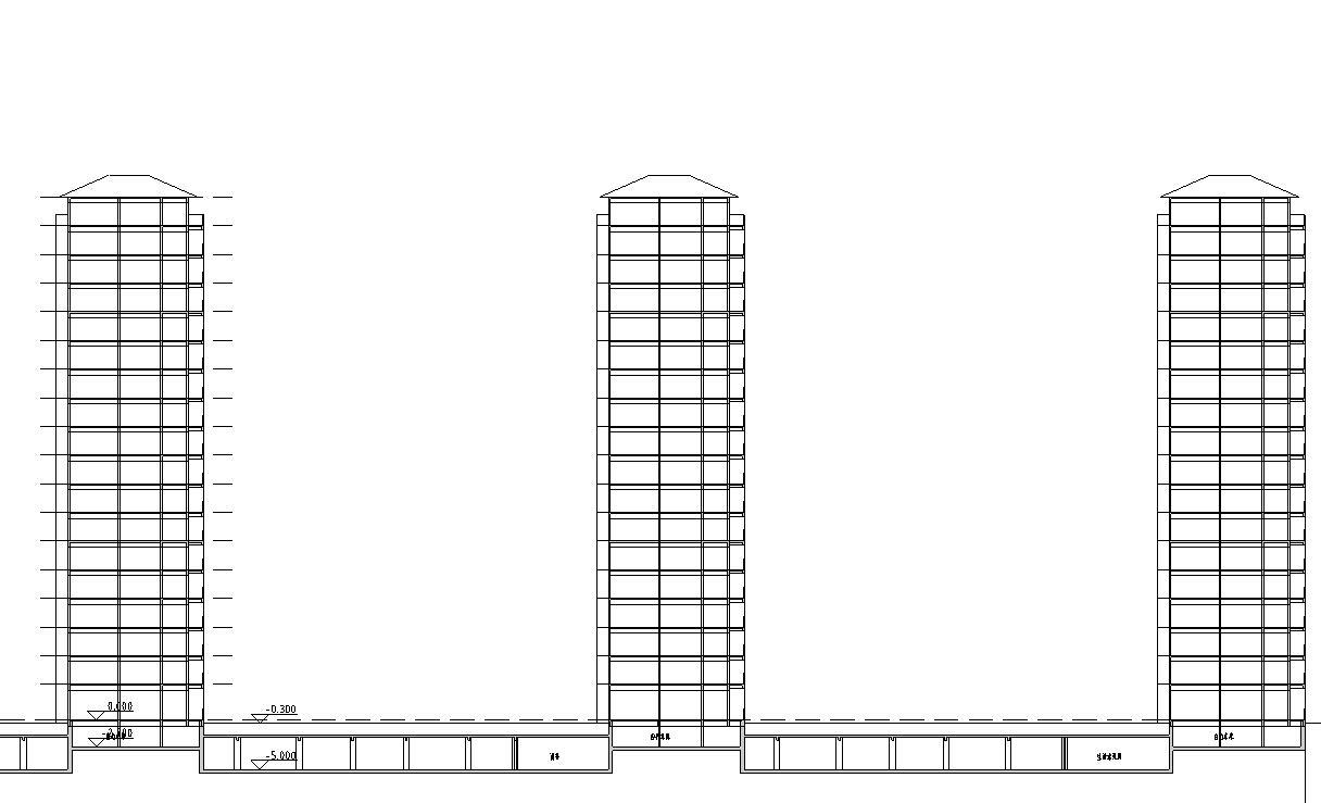 [安徽]淮南山南新区山水宅邸规划施工图设计(CAD)