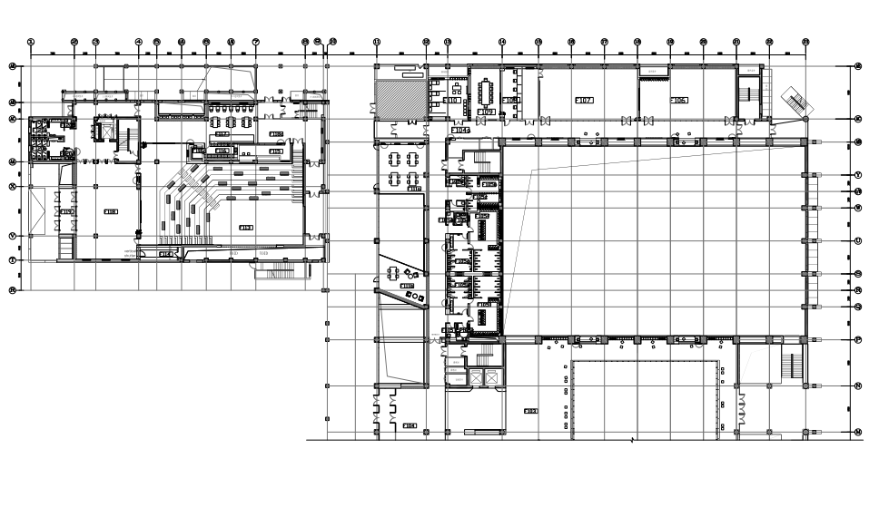 [北京]BIAD-北京大學附屬中學體育館一期&教學北樓設計全套PDF施工圖