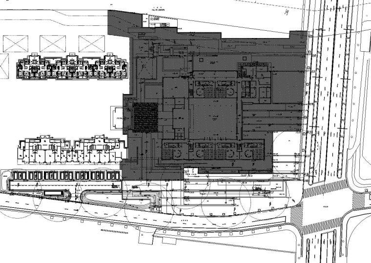 [上海]青浦徐泾万科天空之城居住区红线外景观施工图设计(给排水|CAD)