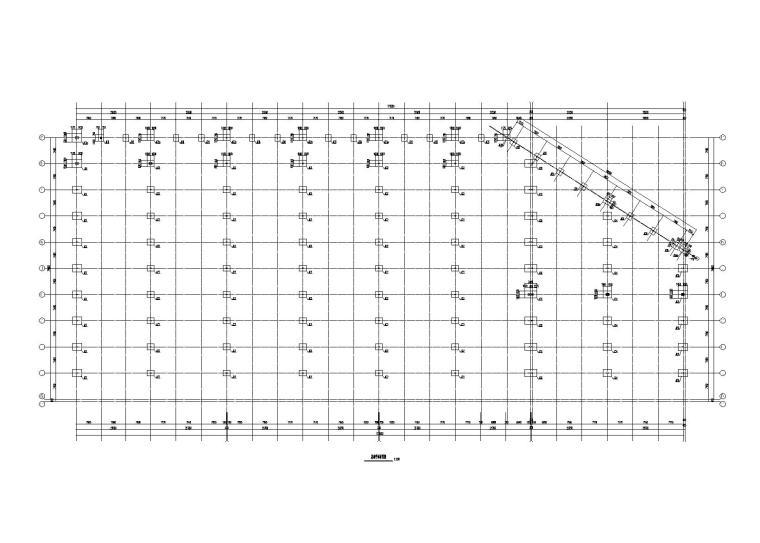 单层轻钢结构厂房结构施工图
