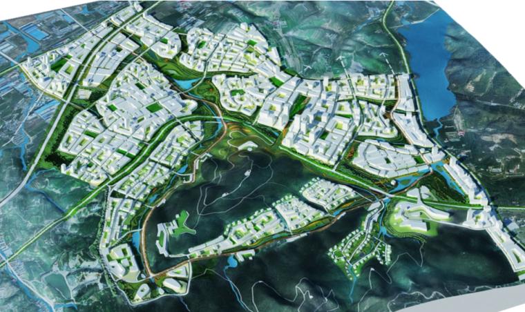 [辽宁]大连融科未来城概念规划方案文本(生态科技城)-SASAKI