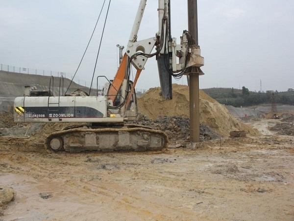 钻孔灌注桩基础施工方案