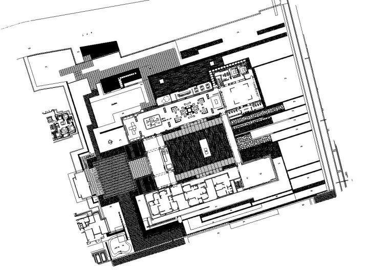 [上海]青浦徐泾万科天空之城居住区红线内景观施工图设计(园林建筑|CAD)