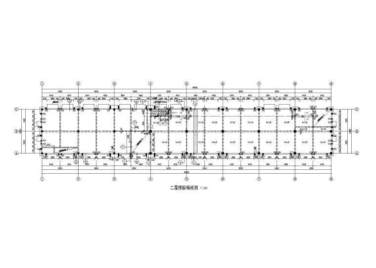 地上2层商业楼全套施工图_建筑结构水暖电