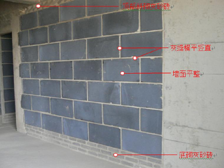 房建工程砌体工程施工工艺培训课件PPT(附图)