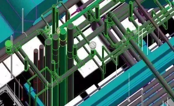 传统的CAD管道设计与现在的BIM区别在哪?