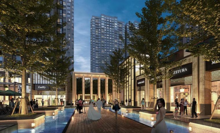 [江苏]南京金地中心建筑模型设计(售楼处+高层商业)