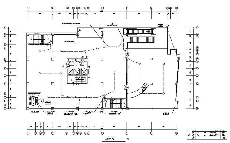 四川十五层商住楼电气设计图纸