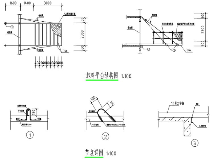 [永兴县]商业住宅项目悬挑卸料平台专项施工方案(完整)