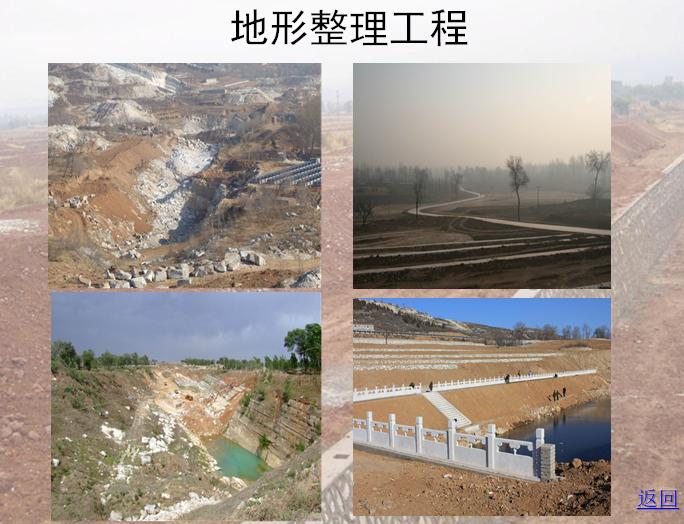 地形整理工程