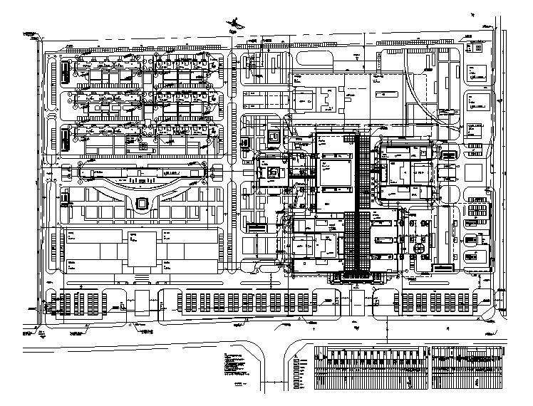 15萬平西藏高層三級醫院強弱電智能施工圖(含照度、電施計算書、綠建)