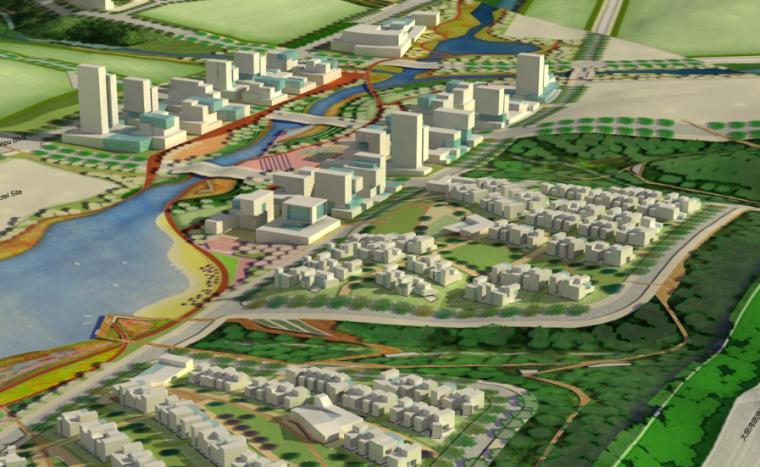 [辽宁]大连国际生态卫星城公共空间总体规划