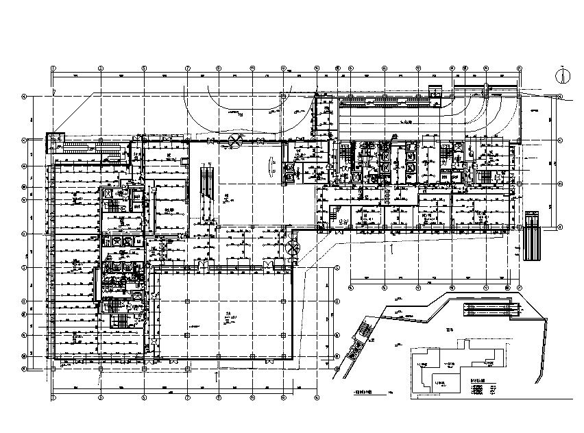 上海虹桥万科给排水设计施工图(地下室、计算书)