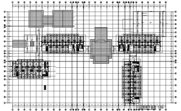 北京著名五星级酒店电气消防图纸(知名设计院)