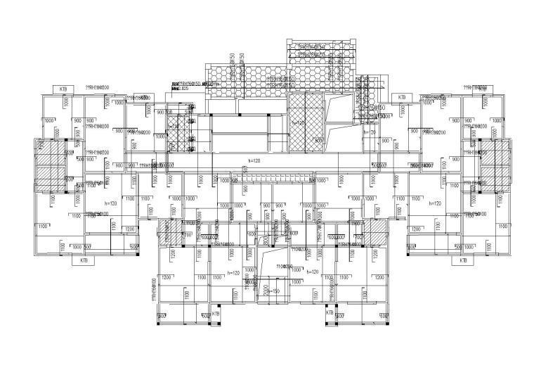 二层板平法配筋图