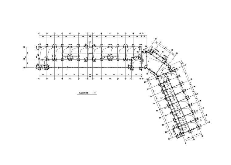 3层框架结构商业楼全套图建筑结构水暖电