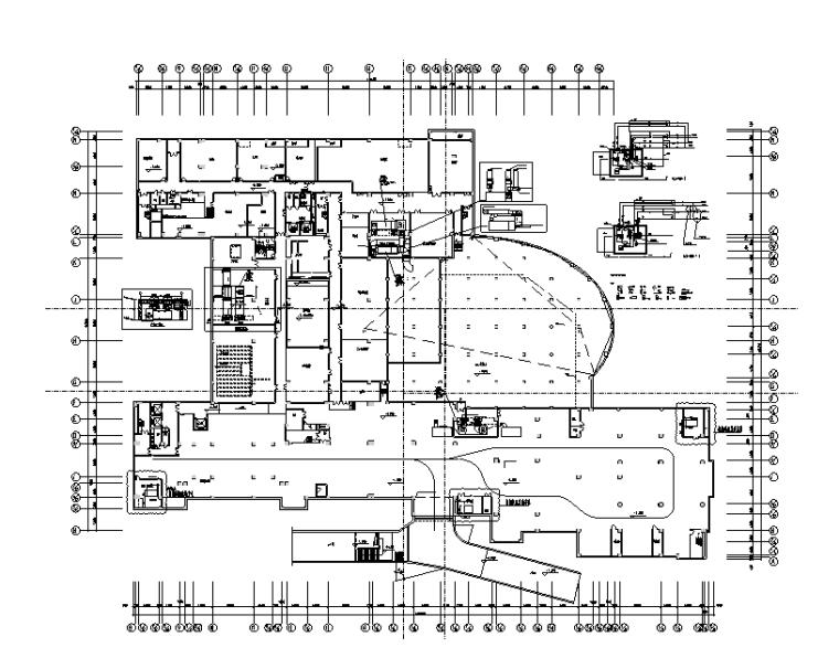 天津五层大酒店暖通设计施工图