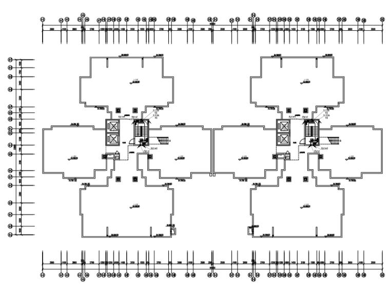 广东二类高层房地产建筑电气施工图
