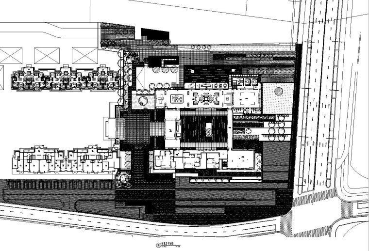 [上海]青浦徐泾万科天空之城居住区红线内景观施工图设计(植物|CAD)