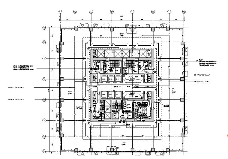 [超高层]重庆国金中心T1塔楼及商业裙房弱电施工图