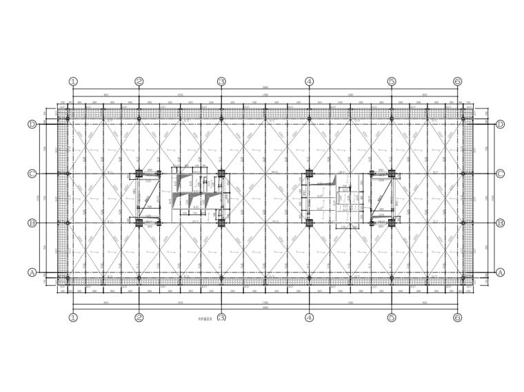 五层结构平面图