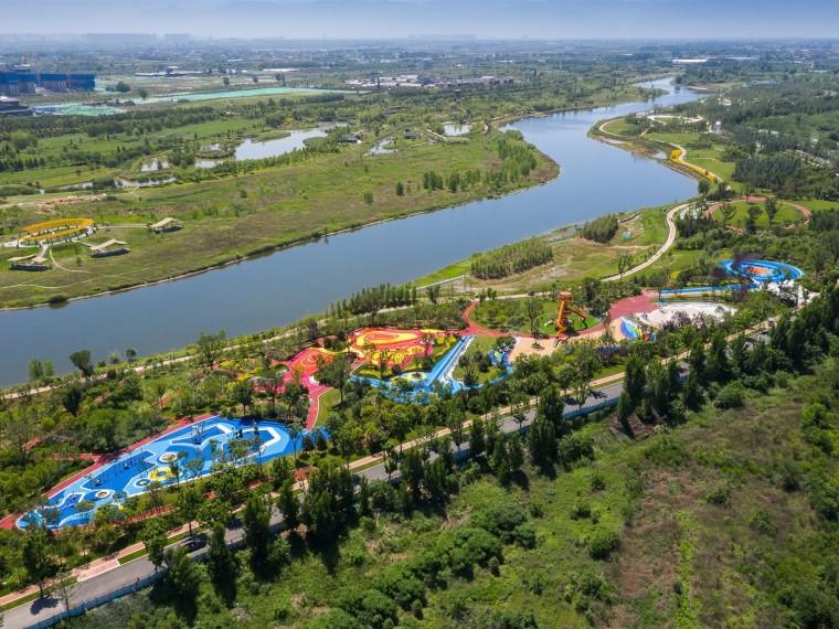 西安沣河湿地生态公园