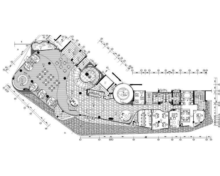 [广东]梁志天珠海华发·峰景湾销售中心CAD施工图