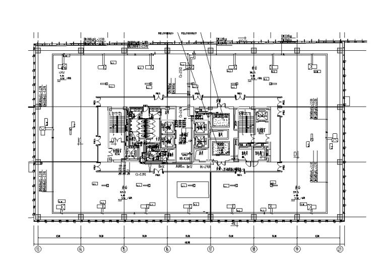 上海虹桥万科全套暖通设计施工图