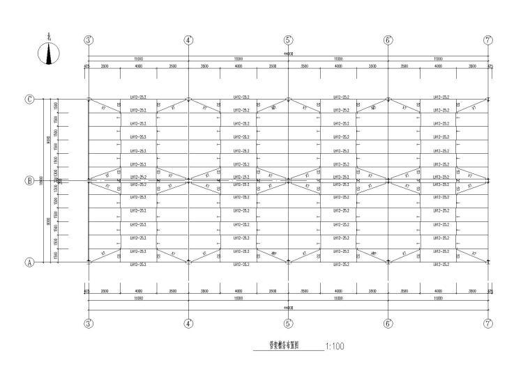 石化产品储罐区全套结构施工图(汽车栈台、储罐、管廊等)