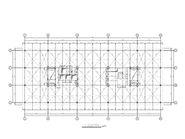 13层结构平面图