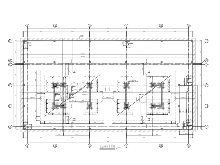 基础结构平面图