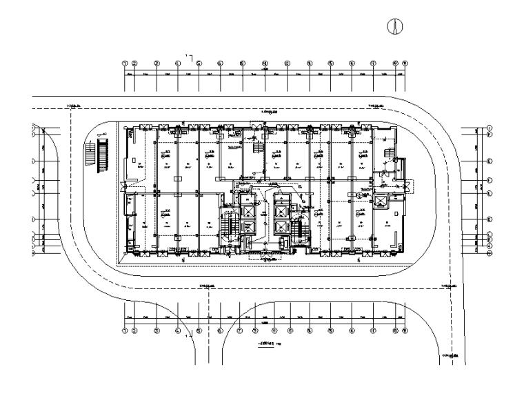 甲級四川10萬平綜合社區建筑電氣結構施工圖(含地下室、人防)
