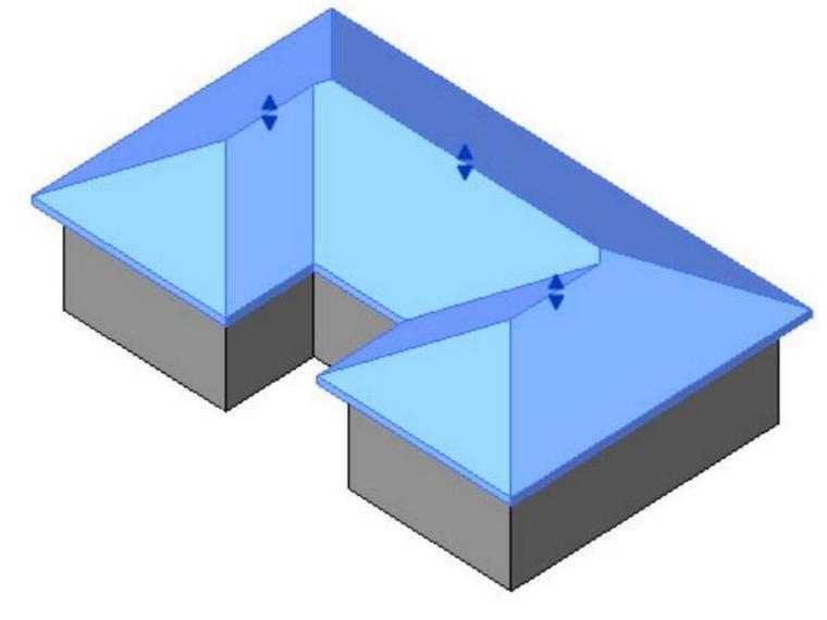 revit教程十一屋顶的创建